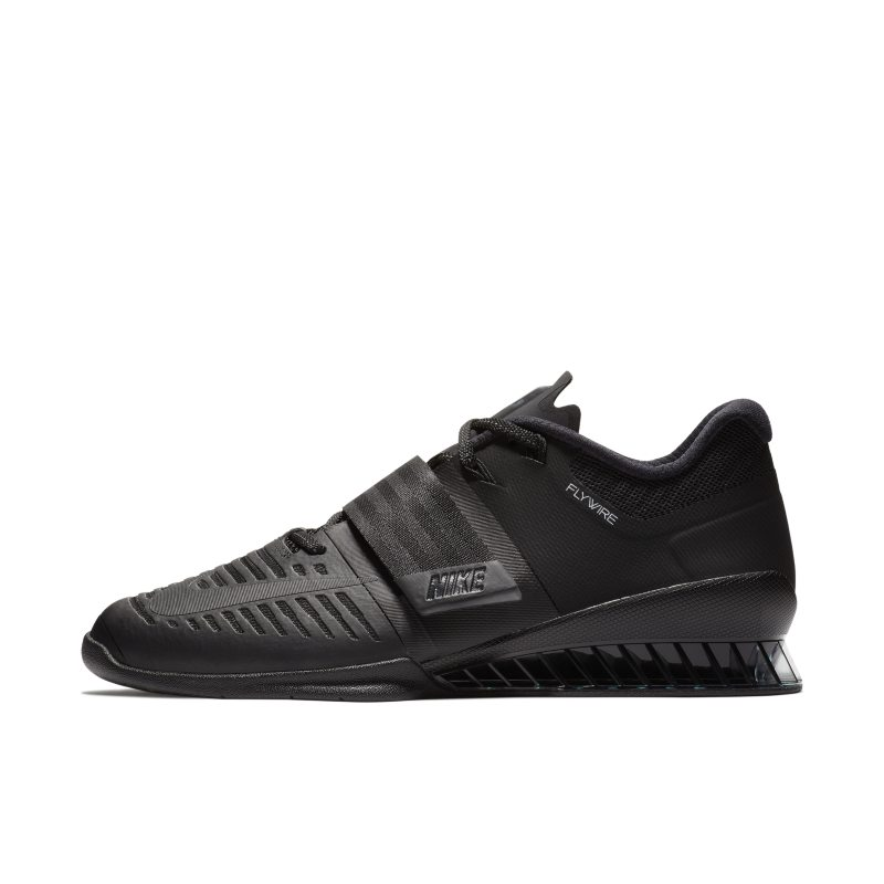 Nike Romaleos 3 Zapatillas para el levantamiento de pesas y el levantamiento de potencia - Negro
