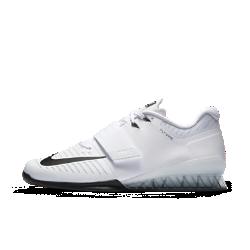 Мужские кроссовки для тяжелой атлетики Nike Romaleos 3Мужские кроссовки для тяжелой атлетики Nike Romaleos 3 обеспечивают необходимую стабилизацию и оптимальную фиксацию для интенсивных тренировок с отягощением. Выбирай для своей тренировки одну из двух входящих в комплект съемных стелек — с мягкой и жесткой поддержкой.<br>