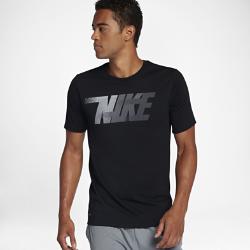 Мужская футболка для тренинга Nike DryМужская футболка для тренинга Nike Dry из влагоотводящей ткани обеспечивает длительный комфорт.<br>