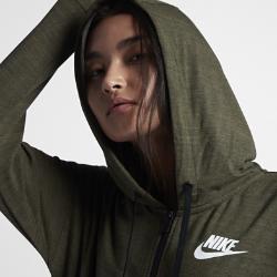 Женская куртка Nike Sportswear Advance 15Женская куртка Nike Sportswear Advance 15 — незаменимая в переменчивую погоду модель из первоклассной ткани джерси для длительного комфорта и надежной посадки.<br>