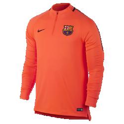 Мужская игровая футболка FC Barcelona Dry Squad DrillМужская игровая футболка FC Barcelona Dry Squad Drill из эластичной влагоотводящей ткани с рукавами покроя реглан обеспечивает комфорт и свободу движений на поле.<br>