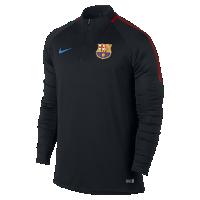 <ナイキ(NIKE)公式ストア> FC バルセロナ ドライ スクワッド ドリル メンズ サッカートップ 854192-011 ブラック画像