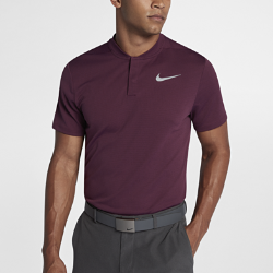 Мужская рубашка-поло для гольфа с облегающим кроем Nike AeroReactМужская рубашка-поло для гольфа с облегающим кроем Nike AeroReact реагирует на повышение и понижение температуры тела, обеспечивая оптимальный комфорт во время игры.<br>