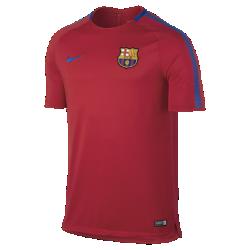 Мужская игровая футболка FC Barcelona Breathe SquadМужская игровая футболка FC Barcelona Breathe Squad из влагоотводящей ткани со вставкой из сетки на спине обеспечивает прохладу и комфорт на поле и за его пределами.<br>