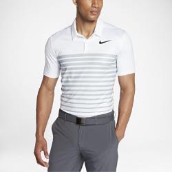 Мужская рубашка-поло для гольфа со стандартной посадкой Nike Dry Heather StripeМужская рубашка-поло для гольфа со стандартной посадкой Nike Dry Heather Stripe из эластичной влагоотводящей ткани обеспечивает оптимальный комфорт во время игры.  КОМФОРТ  Технология Dri-FIT отводит влагу с кожи на поверхность ткани, где она быстро испаряется, обеспечивая комфорт.  СВОБОДА ДВИЖЕНИЙ  Обновленная конструкция области подмышек обеспечивает полную свободу движений.  СТАНДАРТНАЯ ПОСАДКА  Стандартный крой для удобной свободной посадки.<br>