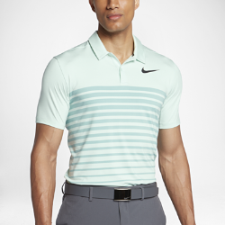 Мужская рубашка-поло для гольфа со стандартной посадкой Nike Dry Heather StripeМужская рубашка-поло для гольфа со стандартной посадкой Nike Dry Heather Stripe из эластичной влагоотводящей ткани обеспечивает оптимальный комфорт во время игры.<br>