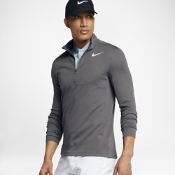 Мужская футболка для гольфа с длинным рукавом Nike AeroReactМужская футболка для гольфа с длинным рукавом Nike AeroReact реагирует на меняющиеся условия, обеспечивая комфорт в непогоду.<br>