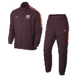 Мужской футбольный костюм FC Barcelona Dri-FIT SquadМужской футбольный костюм FC Barcelona Dri-FIT Squad из влагоотводящей ткани с фирменными деталями обеспечивает комфорт.<br>