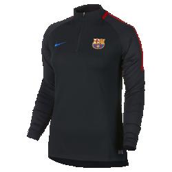 Женская игровая футболка FC Barcelona Dry Squad DrillЖенская игровая футболка FC Barcelona Dry Squad Drill из эластичной влагоотводящей ткани с рукавами покроя реглан обеспечивает комфорт и свободу движений на поле.<br>
