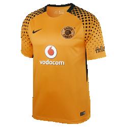 Мужское футбольное джерси 2017/18 Kaizer Chiefs FC Stadium HomeМужское футбольное джерси 2017/18 Kaizer Chiefs FC Stadium Home из легкой ткани с символикой команды обеспечивает комфорт на каждый день.<br>