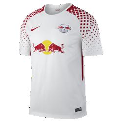 Мужское футбольное джерси 2017/18 RB Leipzig Stadium Home/AwayМужское футбольное джерси 2017/18 RB Leipzig Stadium Home/Away из дышащей влагоотводящей ткани обеспечивает охлаждение и комфорт.<br>