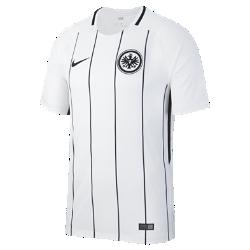 Мужское футбольное джерси 2017/18 Eintracht Frankfurt Stadium HomeМужское футбольное джерси 2017/18 Eintracht Frankfurt Stadium Home из дышащей влагоотводящей ткани обеспечивает охлаждение и комфорт.<br>