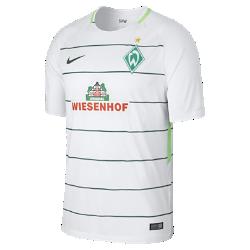 Мужское футбольное джерси 2017/18 Werder Bremen Stadium AwayМужское футбольное джерси 2017/18 Werder Bremen Stadium Away из дышащей влагоотводящей ткани обеспечивает охлаждение и комфорт.<br>