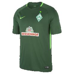 Мужское футбольное джерси 2017/18 Werder Bremen Stadium HomeМужское футбольное джерси 2017/18 Werder Bremen Stadium Home из дышащей влагоотводящей ткани обеспечивает охлаждение и комфорт.<br>