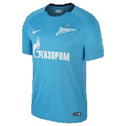 Мужское футбольное джерси 2017/18 FC Zenit Stadium HomeМужское футбольное джерси 2017/18 FC Zenit Stadium Home обеспечивает легкость и комфорт, когда ты болеешь за команду с трибун или просто идешь по улице.<br>