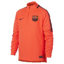 Игровая футболка для школьников FC Barcelona Dry Squad DrillИгровая футболка для школьников FC Barcelona Dry Squad Drill из эластичной влагоотводящей ткани с рукавами покроя реглан обеспечивает комфорт и свободу движений на поле.<br>