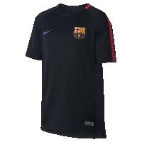 <ナイキ(NIKE)公式ストア> FC バルセロナ ブリーズ スクワッド ジュニア サッカートップ 854411-011 ブラック画像