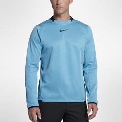 Мужская футболка для гольфа с длинным рукавом Nike ThermaМужская футболка для гольфа с длинным рукавом Nike Therma из влагоотводящей термоткани обеспечивает тепло и комфорт во время игры. Преимущества  Технология Dri-FIT отводит влагу и обеспечивает комфорт Ткань Nike Therma использует выделяемое телом тепло для защиты от холода Эргономичные швы и изогнутая нижняя кромка для естественной свободы движений Эластичные манжеты и нижняя кромка надежно фиксируют посадку Карманы с подкладкой из сетки для вентиляции содержимого  Информация о товаре  Состав: Dri-FIT 100% полиэстер Машинная стирка Импорт<br>