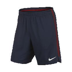Мужские футбольные шорты Paris Saint-Germain SquadМужские футбольные шорты Paris Saint-Germain Squad из влагоотводящей ткани обеспечивают прохладу, комфорт и свободу движений на поле.<br>