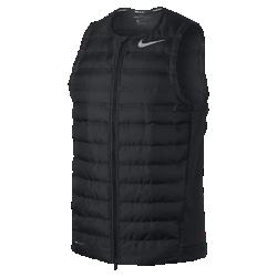 Мужской жилет для гольфа Nike AeroLoftМужской жилет для гольфа Nike AeroLoft обеспечивает невероятную легкость, вентиляцию и тепло благодаря технологии AeroLoft.<br>