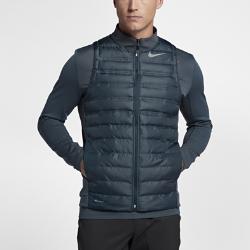 Мужской жилет для гольфа Nike AeroLoftМужской жилет для гольфа Nike AeroLoft помогает поддерживать комфортную температуру тела в переменчивую погоду на поле и за его пределами.<br>