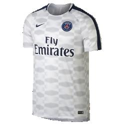 Мужская игровая футболка Paris Saint-Germain Dry SquadМужская игровая футболка Paris Saint-Germain Dry Squad из легкой влагоотводящей ткани с рукавами покроя реглан обеспечивает комфорт и свободу движений во время игры.<br>
