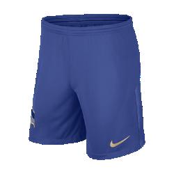 Мужские футбольные шорты 2017/18 Hertha BSC Stadium Home/AwayМужские футбольные шорты 2017/18 Hertha BSC Stadium Home/Away из легкой ткани со вставками из эластичной сетки обеспечивают длительный комфорт и естественную свободу движений.<br>