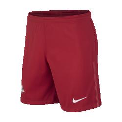 Мужские футбольные шорты 2017/18 RB Leipzig Stadium Home/AwayМужские футбольные шорты 2017/18 RB Leipzig Stadium Home/Away из легкой ткани со вставками из эластичной сетки обеспечивают длительный комфорт и естественную свободу движений.<br>