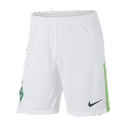 Мужские футбольные шорты 2017/18 Werder Bremen Stadium Home/AwayМужские футбольные шорты 2017/18 Werder Bremen Stadium Home/Away из легкой ткани со вставками из эластичной сетки обеспечивают длительный комфорт и естественную свободу движений.<br>