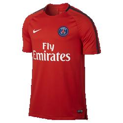 Мужская игровая футболка Paris Saint-Germain Breathe SquadМужская игровая футболка Paris Saint-Germain Breathe Squad из влагоотводящей ткани со вставкой из сетки на спине обеспечивает прохладу и комфорт на поле и за его пределами.<br>