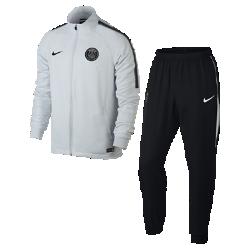 Мужской футбольный костюм Paris Saint-Germain Dry SquadМужской футбольный костюм Paris Saint-Germain Dry Squad из влагоотводящей ткани с фирменными деталями обеспечивает комфорт.<br>