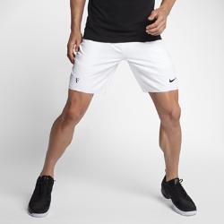 Мужские теннисные шорты NikeCourt Flex RF 23 смМужские теннисные шорты NikeCourt Flex RF 23 см разработаны для грациозной игры в стиле Роджера Федерера. Ткань Nike Flex не сковывает движений для невероятной маневренности. Специально разработанные карманы для мячей не заставят тебя снижать скорость.<br>