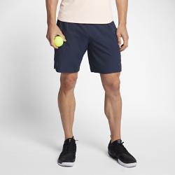 Мужские теннисные шорты NikeCourt Flex RF 23 смМужские теннисные шорты NikeCourt Flex RF 23 см разработаны для грациозной игры в стиле Роджера Федерера. Ткань Nike Flex не сковывает движений для невероятной маневренности. Специальные карманы для надежного хранения мячей позволяют не снижать скорость.  СВОБОДА ДВИЖЕНИЙ  Эластичная ткань Nike Flex не сковывает движений и обеспечивает первоклассный комфорт.  АБСОЛЮТНАЯ КОНЦЕНТРАЦИЯ  Не отвлекайся на мелочи. Благодаря особой конструкции карманы позволяют надежно хранить мячи и не ограничивают свободу движений.  РЕГУЛИРУЕМАЯ ПОСАДКА  Пояс с утягивающим шнурком и подкладкой из сетки для удобной посадки и вентиляции.<br>