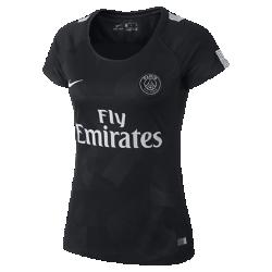 Мужское футбольное джерси 2017/18 Paris Saint-Germain Stadium ThirdМужское футбольное джерси 2017/18 Paris Saint-Germain Stadium Third из легкой влагоотводящей ткани обеспечивает охлаждение и комфорт.<br>