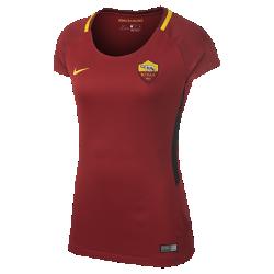 Женское футбольное джерси 2017/18 A.S. Roma Stadium HomeЖенское футбольное джерси 2017/18 A.S. Roma Stadium Home из дышащей влагоотводящей ткани обеспечивает охлаждение и комфорт.<br>