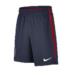 Футбольные шорты для школьников Paris Saint-Germain SquadФутбольные шорты для школьников Paris Saint-Germain Squad из влагоотводящей ткани обеспечивают комфорт во время игры.<br>
