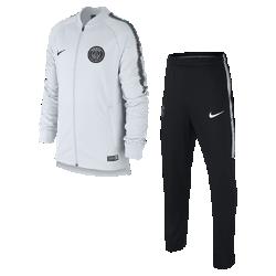 Футбольный костюм для мальчиков Paris Saint-Germain Dry SquadФутбольный костюм для мальчиков Paris Saint-Germain Dry Squad из влагоотводящей ткани с фирменными деталями обеспечивает комфорт.<br>