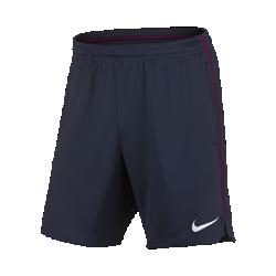 Мужские футбольные шорты Manchester City FC SquadМужские футбольные шорты Manchester City FC Squad из влагоотводящей ткани обеспечивают прохладу, комфорт и свободу движений на поле.<br>