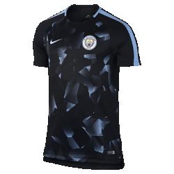 Мужская игровая футболка Manchester City FC Dry SquadМужская игровая футболка Manchester City FC Dry Squad из влагоотводящей ткани с рукавами покроя реглан обеспечивает комфорт и свободу движений во время игры.<br>