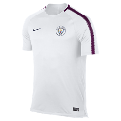 Мужская игровая футболка Manchester City FC Breathe SquadМужская игровая футболка Manchester City FC Breathe Squad из влагоотводящей ткани со вставкой из сетки на спине обеспечивает вентиляцию и комфорт на поле и за его пределами.<br>