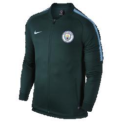 Мужская куртка Manchester City FC Dry SquadМужская куртка Manchester City FC Dry Squad из влагоотводящей ткани с символикой команды обеспечивает комфорт.<br>