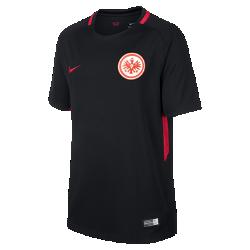 Футбольное джерси для школьников 2017/18 Eintracht Frankfurt Stadium AwayФутбольное джерси для школьников 2017/18 Eintracht Frankfurt Stadium Away из дышащей влагоотводящей ткани обеспечивает охлаждение и комфорт.<br>