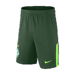 Футбольные шорты для школьников 2017/18 Werder Bremen Stadium Home/AwayФутбольные шорты для школьников 2017/18 Werder Bremen Stadium Home/Awa из легкой ткани со вставками из эластичной сетки обеспечивают длительный комфорт и естественную свободу движений.<br>