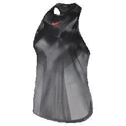 Женская теннисная майка NikeCourt Dry SlamЖенская теннисная майка NikeCourt Dry Slam из ультралегкой эластичной ткани обеспечивает охлаждение и комфорт при максимальных нагрузках.  ВОЗДУХОПРОНИЦАЕМОСТЬ  Ткань с микроперфорацией создает максимальную циркуляцию воздуха для охлаждения и комфорта во время игры.  КОМФОРТ  Технология Dri-FIT обеспечивает комфорт, выводя влагу на поверхность ткани, где она быстро испаряется.  СВОБОДА ДВИЖЕНИЙ  Бретели Т-образной спины обеспечивают полную свободу движений.<br>