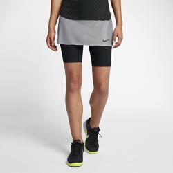 Теннисная юбка NikeCourt DryТеннисная юбка NikeCourt Dry создана для свободы движений. Вшитые шорты из ткани Nike Power обеспечивают поддержку и воздухопроницаемость, а также позволяют хранить мячи.<br>