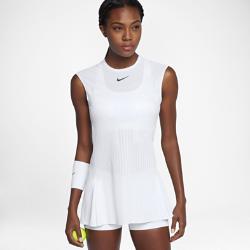 Теннисное платье NikeCourt Dry SlamВ теннисном платье NikeCourt Dry Slam сочетаются стиль и функциональность. Элегантная плиссировка для свободы движений, воздухопроницаемости и защиты.<br>