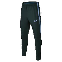 Футбольные брюки для школьников Manchester City FC Dry SquadФутбольные брюки для школьников Manchester City FC Dry Squad из эластичной влагоотводящей ткани обеспечивают комфорт и свободу движений во время тренировок.<br>