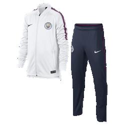Футбольный костюм для школьников Manchester City FC Dry SquadФутбольный костюм для школьников Manchester City FC Dry Squad из влагоотводящей ткани с фирменными деталями обеспечивает комфорт.<br>