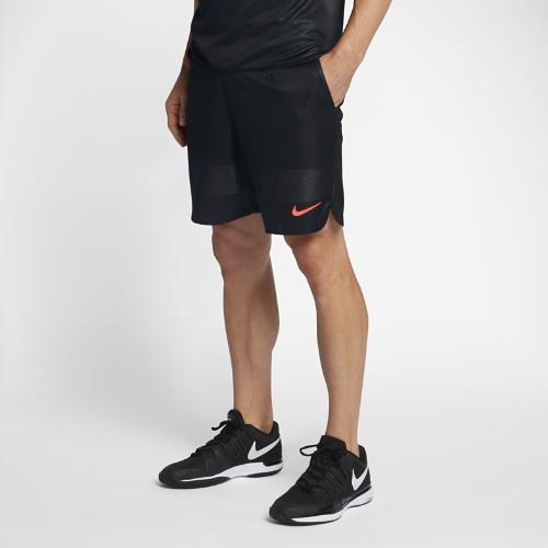 <ナイキ(NIKE)公式ストア> ナイキコート エース メンズ 23cm テニスショートパンツ 854930-010 ブラック