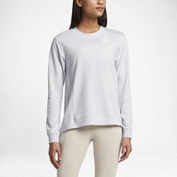 Женский свитшот Nike Sportswear Gym ClassicЖенский свитшот Nike Sportswear Gym Classic из мягкой ткани с удлиненной сзади нижней кромкой сохраняет тепло и обеспечивает комфортную защиту.<br>